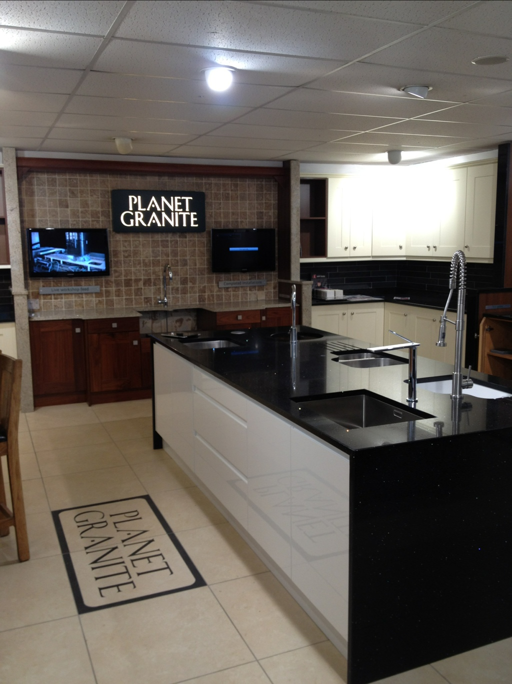 Granite Showrooms : Planet granite Showroom