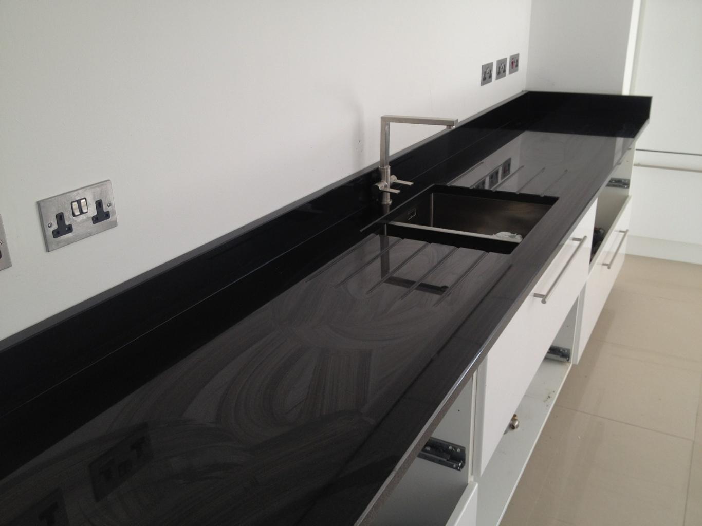 Black Granite Worktops Black Granite Worktop