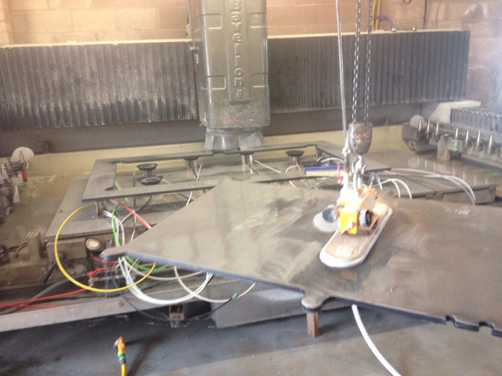 Cutting the top out with our CNC Machine