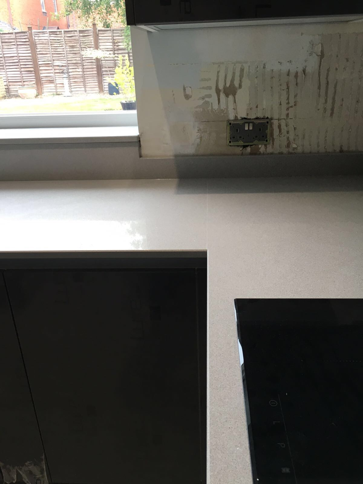 Silestone integrity sink with recess drainer - Another