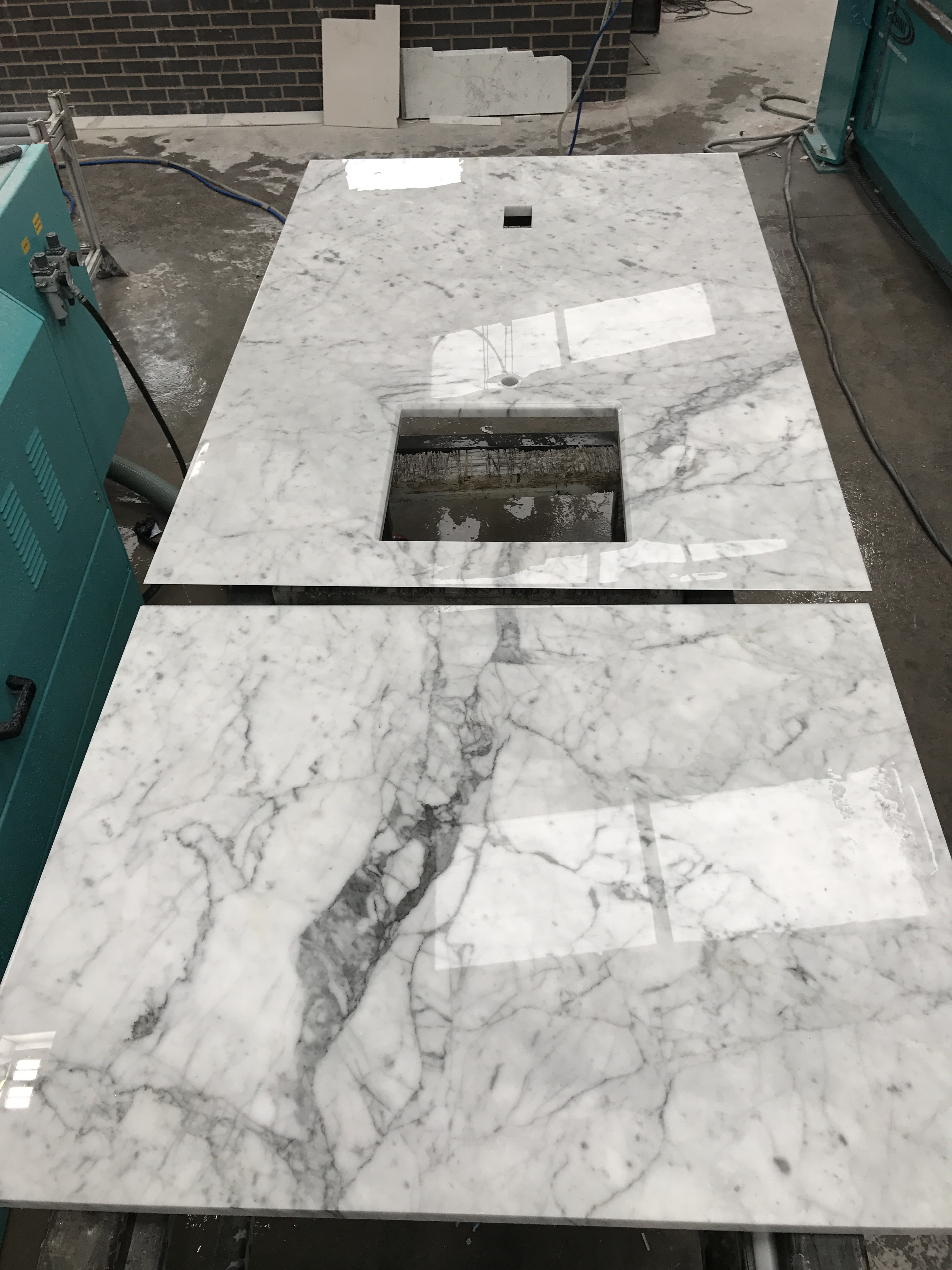 Carrera Marble Worktops